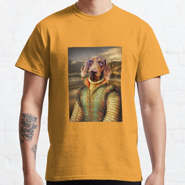 Dachshund Dog Portrait - Penny Classic T-Shirt