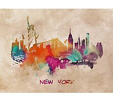 New York City skyline 2 Photographic Print