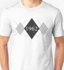 Abstraq Inc: 1962 Argyle (black) T-Shirt