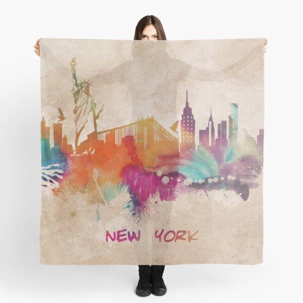 New York City skyline 2 Scarf