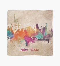 New York City skyline 2 Scarf