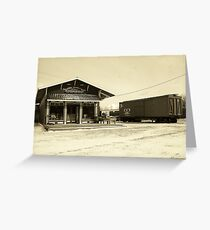 Canal Street Station General Store Greeting Card