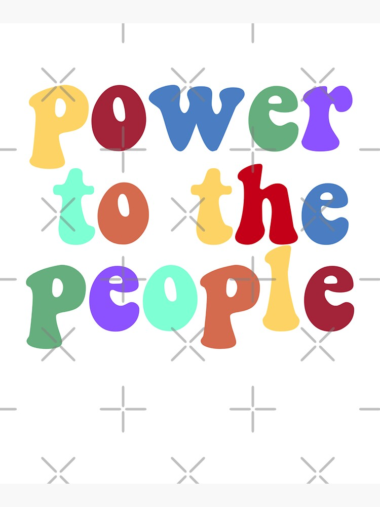 power to the people (rainbow) by quinnhopp