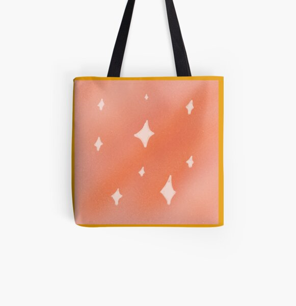 Golden pattern All Over Print Tote Bag