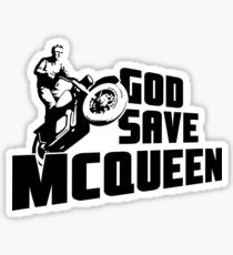 God Save McQueen Sticker