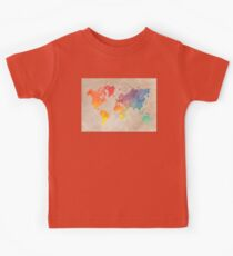 World Map maps Kids Clothes