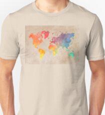 World Map maps Unisex T-Shirt
