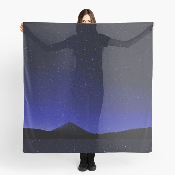Art Inspired by Nature Art, Illustration Scarf