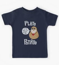 Plato Potato Kids Tee