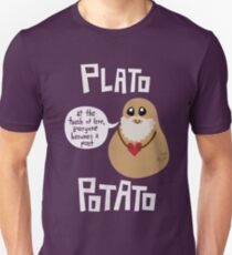 Plato Potato Unisex T-Shirt