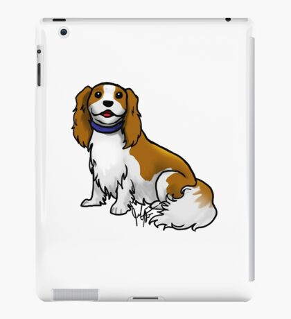 King Charles Cavalier Terrier iPad Case/Skin
