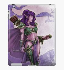 Elf Huntress iPad Case/Skin