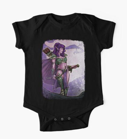 Elf Huntress Kids Clothes