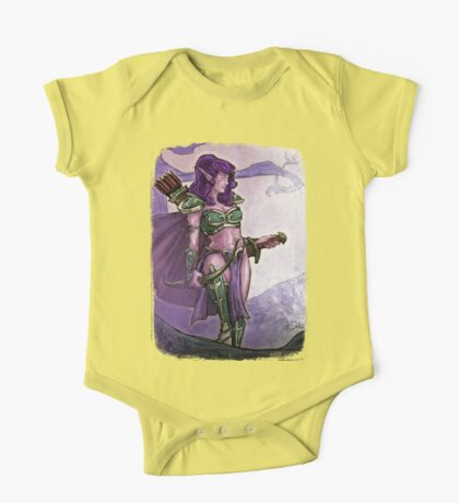 Elf Huntress Kids Clothes