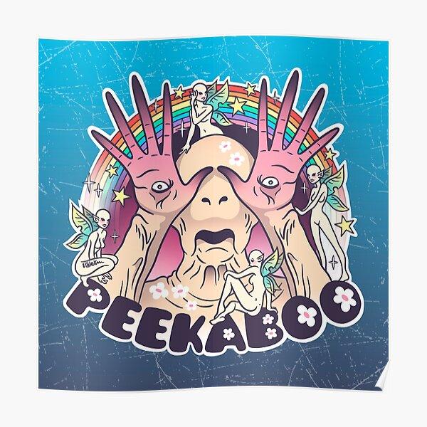 Pale Man - Peek-a-boo Poster