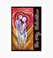 valentine card #3 Art Print