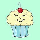 The Happy Cupcake by pondlifeforme