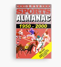 BTTF: Sports Almanac Metal Print
