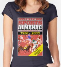 BTTF: Sports Almanac Women's Fitted Scoop T-Shirt