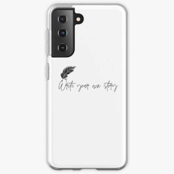 Write your own story Samsung Galaxy Soft Case
