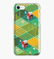 Isometric Farmlands iPhone Case/Skin
