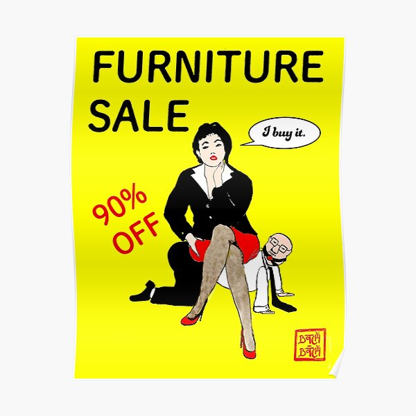 Furniture sale Poster