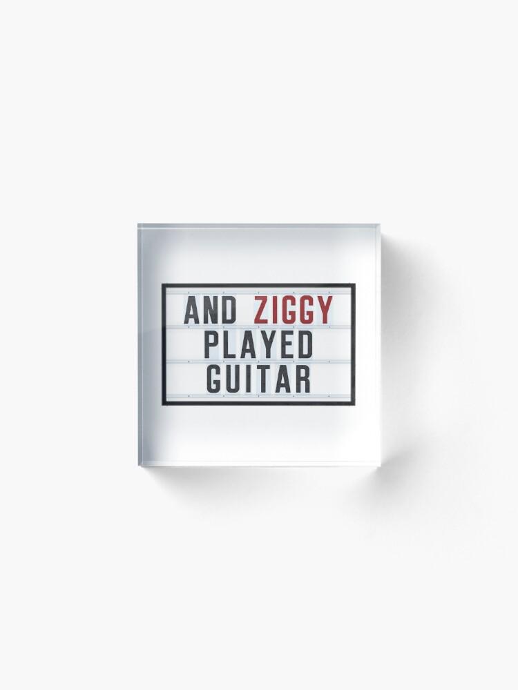 Alternate view of ZIGGY - Lightbox Acrylic Block