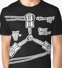 BTTF: Flux capacitor Graphic T-Shirt
