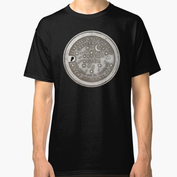 Crescent City Water Meter Cover Classic T-Shirt