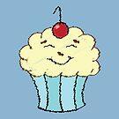 Scribble Cupcake by pondlifeforme