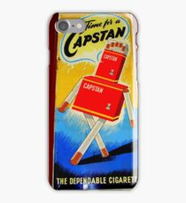 Vintage Capstan Sign iPhone Case/Skin