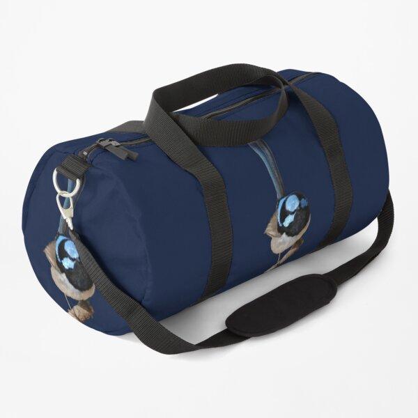 Superb Fairy-wren male 2 Duffle Bag