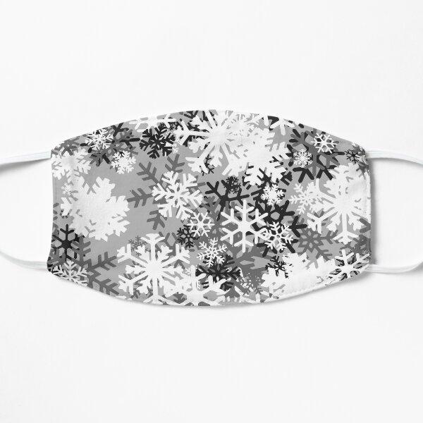 Snowflake Camo Flat Mask