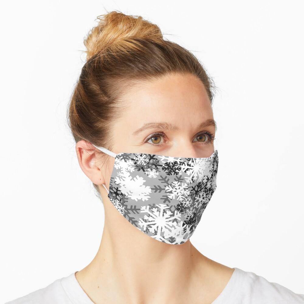Snowflake Camo Mask