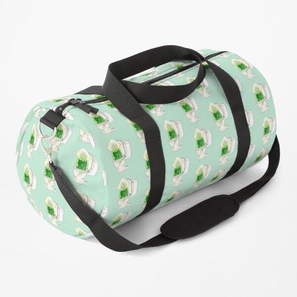 Peridot In the Toilet Duffle Bag