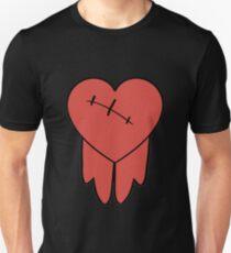 Robbie cosplay hoodie bleeding heart Slim Fit T-Shirt