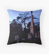 Fire and Stone, Sleepy Hollow Cemetery, Sleepy Hollow NY Throw Pillow