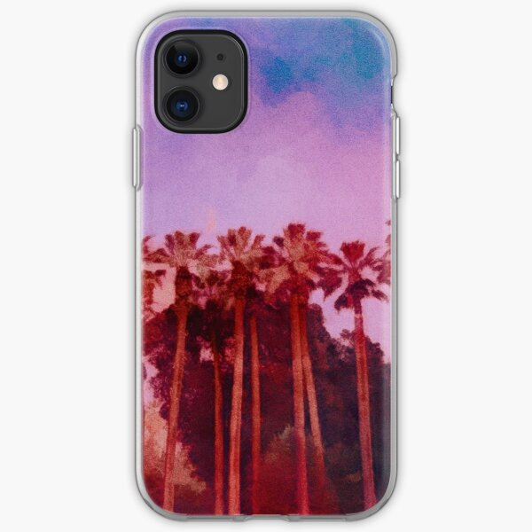 Palm Trees iPhone Soft Case