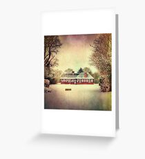 Winter Warmer Greeting Card