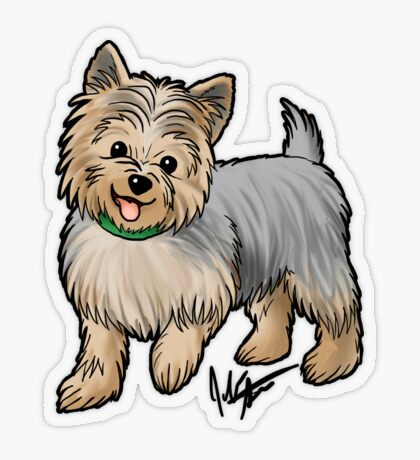 Yorkshire Terrier Transparent Sticker
