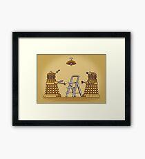 Dalek DIY Framed Print