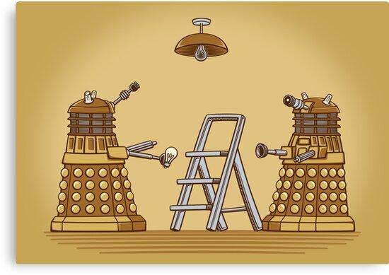 Dalek DIY by DoodleDojo