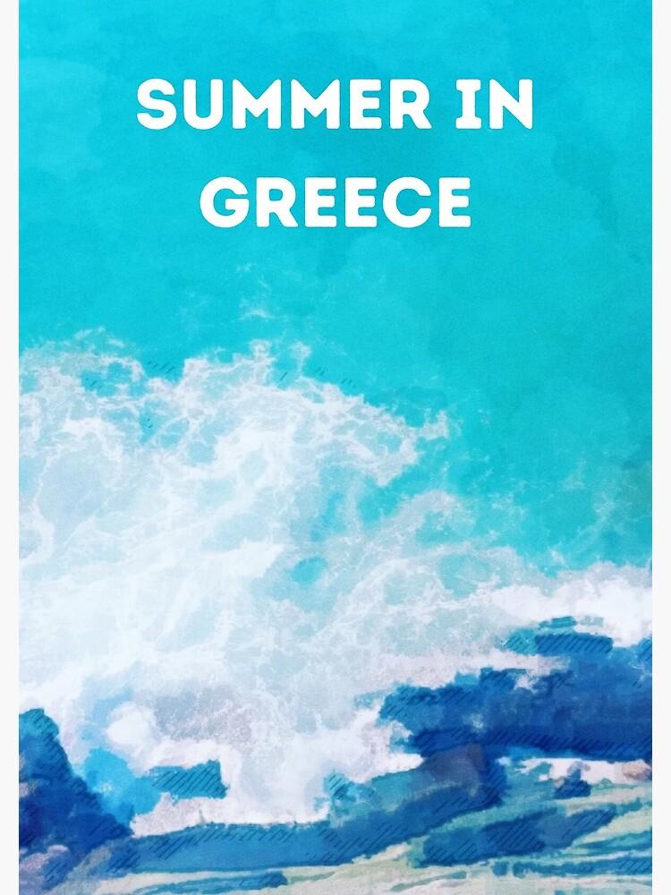 Summer in Greece by UraniaDesigns