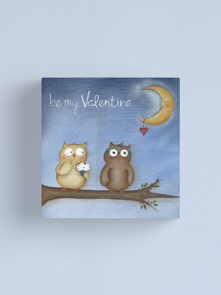 Alternate view of Be My Valentine Canvas Print