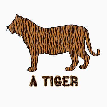 Arrrk - A Tiger by MuseBoots