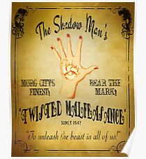 Póster Shadows of Evil - Twisted Malfeasance