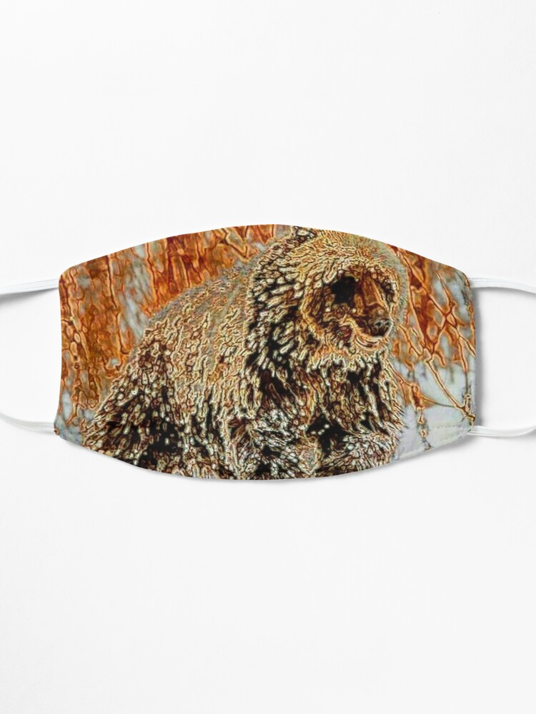 Alternate view of GRIZZLY BEAR Mask