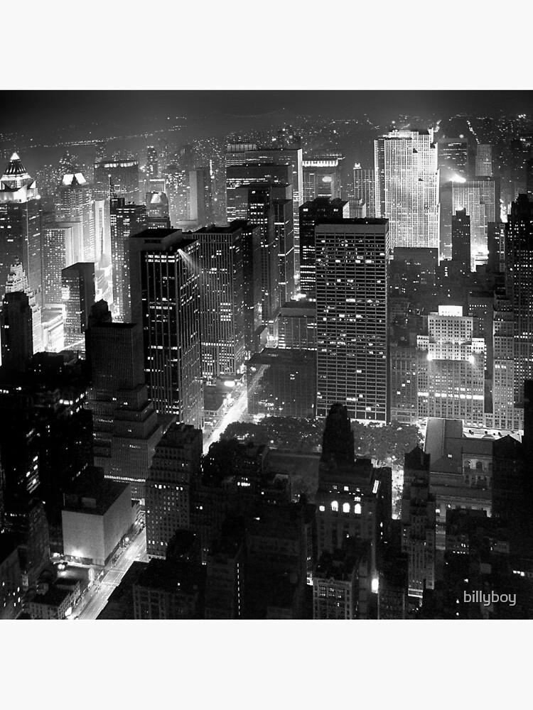 Sleepless In Manhattan by billyboy