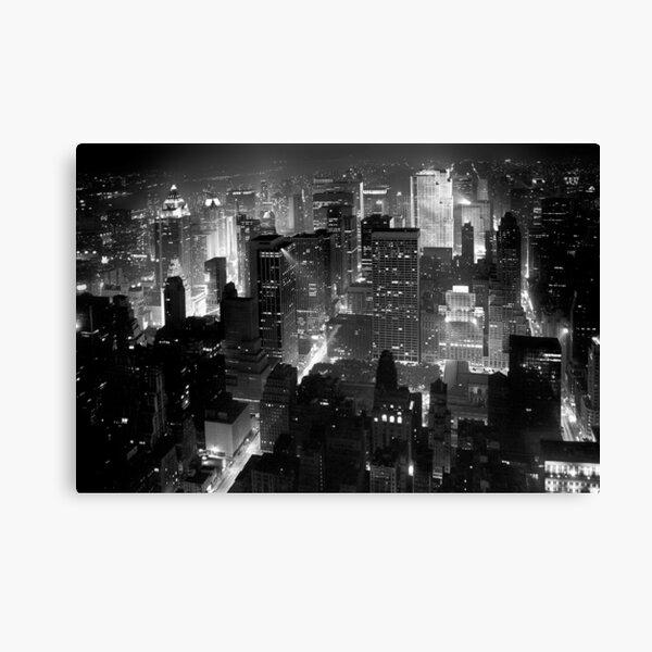 Sleepless In Manhattan Canvas Print