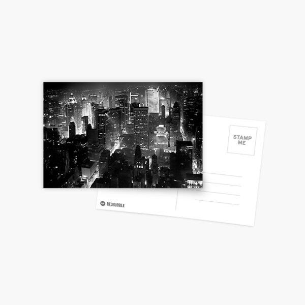 Sleepless In Manhattan Postcard